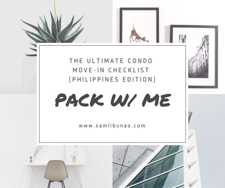 Condo Move-in Checklist